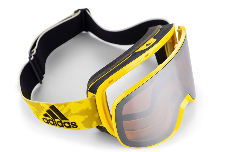 The Adidas Progressor C with Revo red  Cylindrical mirror lens