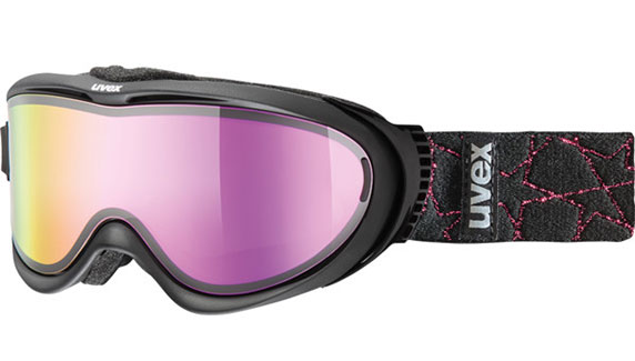 The Uvex Comanche ski goggles with Take Off polarised lens