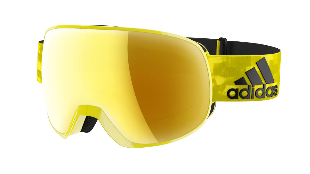 Adidas Ski Goggles Progressor in yellow