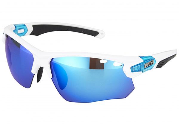 Iridium blue mirror lenses