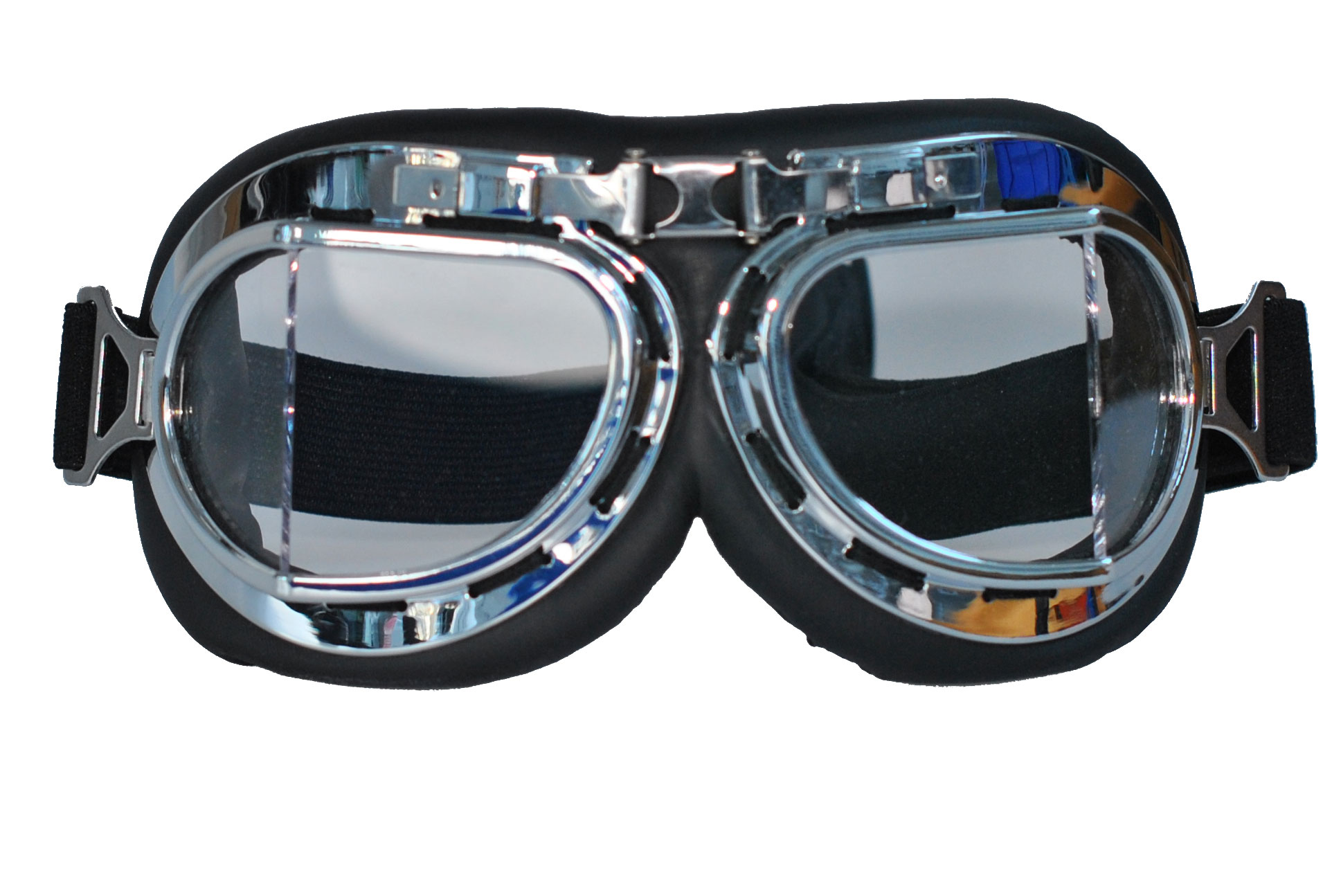 Vintage Wwii Aviator Goggles And Retro Scooter Goggles Or