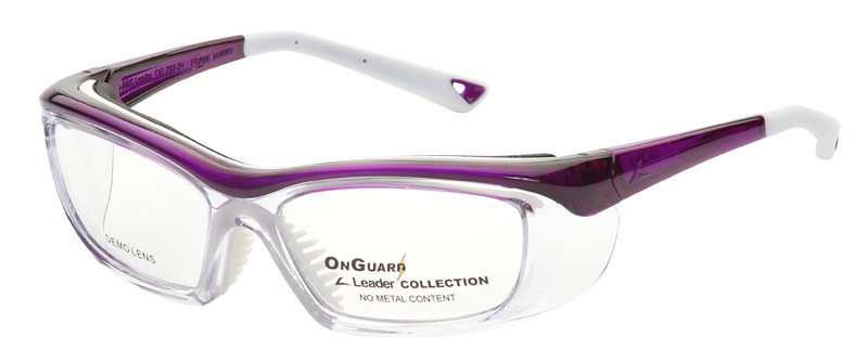 Medical safety eyewear for the laboratory with side splash outs