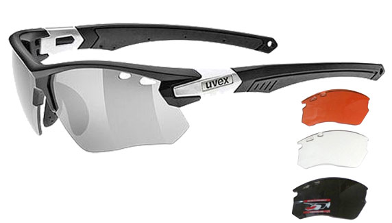 Optical insert cycling glasses