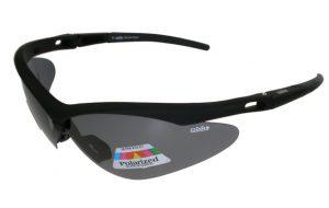 Polarised cycling glasses