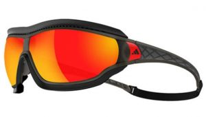 Adidas Sonnenbrille Tycane Pro - look like glasses work like goggles