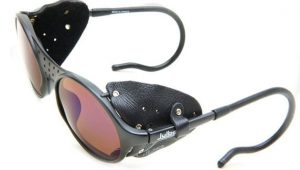 Snow Sunglasses with Leather side shields