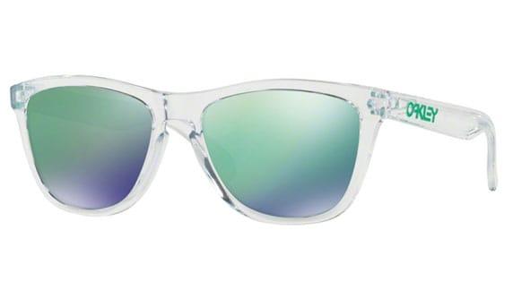 transparent oakley frogskins mirror prescription lenses uk eyewear rh uksportseyewear co uk