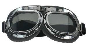 WWII Aviator vintage goggles 60s Scooter or classic motorcycle