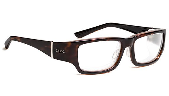 Ziena Nereus dark tortoise shell finish mens size