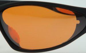 Amber lenses