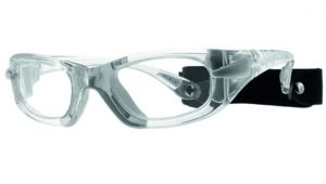 Protective Eyewear with removable retaining strap - 2 sizes