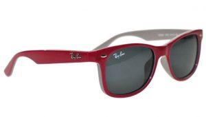 Girls Ray-Ban Wayfarer style sunglasses 177/87 Fuxia and grey