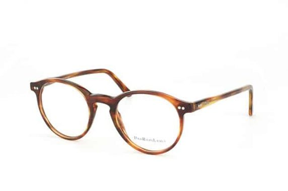 Polo retro round glasses