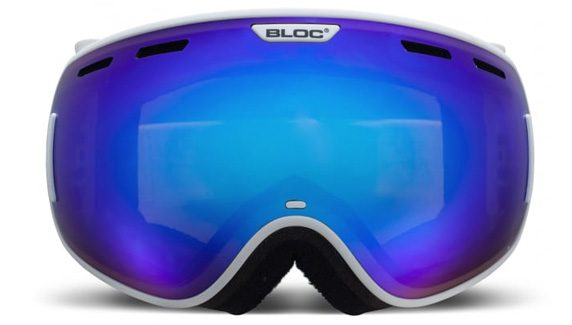 Bloc snow goggles blue mirror
