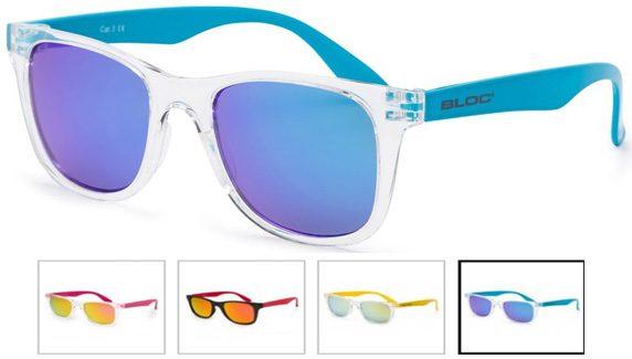 Junior crystal transparent junior sunglasses