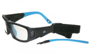 Protective sports eyewear