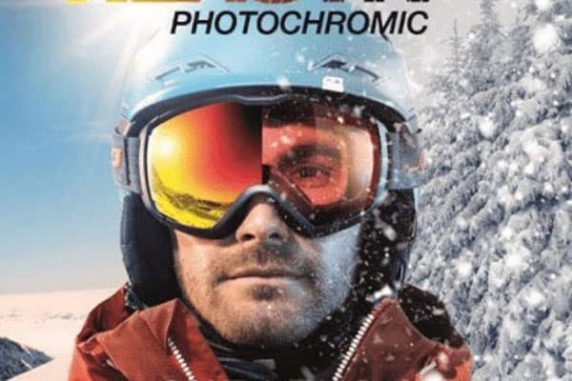 photochromic ski goggles