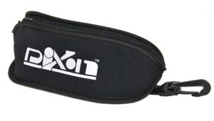 Sports glasses case with 4 lens pockets