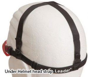 Under helmet head strap