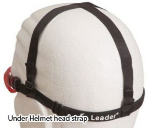Under helmet head strap