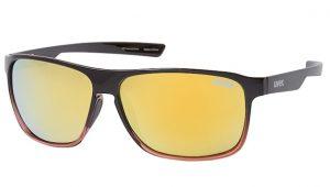 Uvex lgl 33 polarised gold mirror