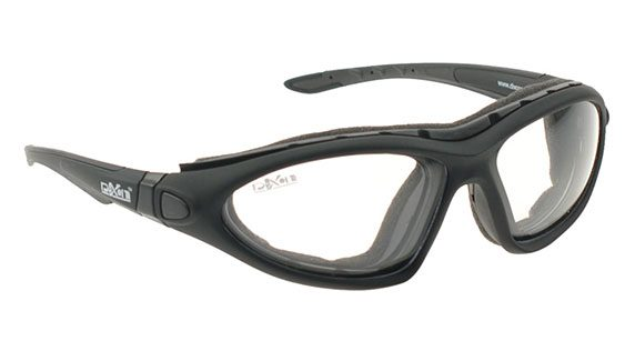 Moisture chamber glasses