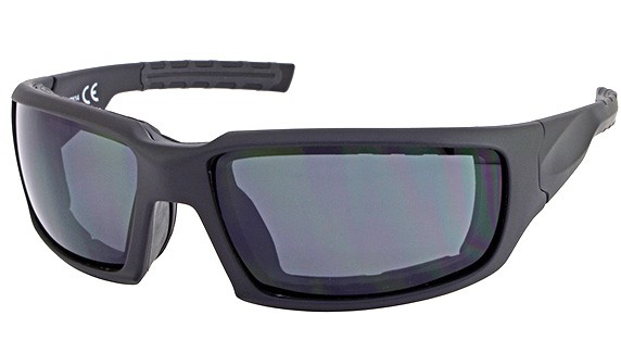 Motorcycle Glasses in black with wind proof seal