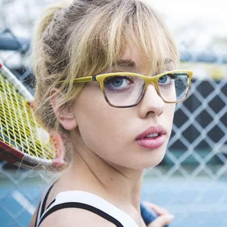 ladies tennis glasses