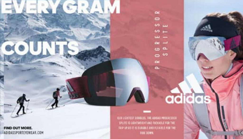 Adidas Splice ski goggles