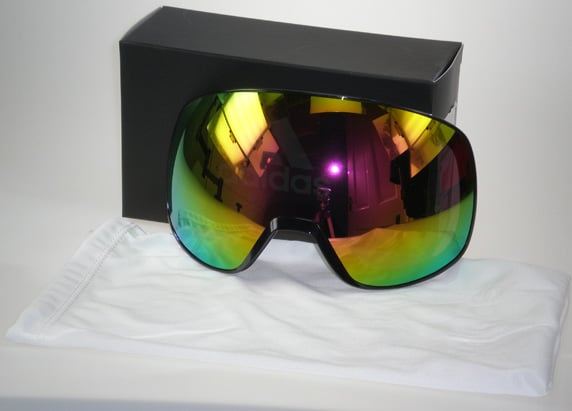 Progressor S Red mirror lens