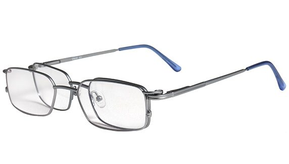 computer glasses with magna clip