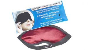 hot eye compress