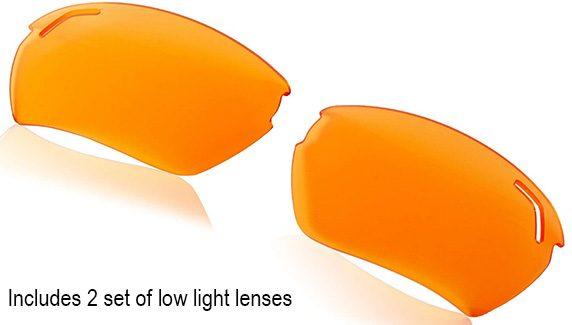 Uvex 303 amber lenses
