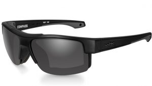 Compass Smoke Grey Matte Black Frame