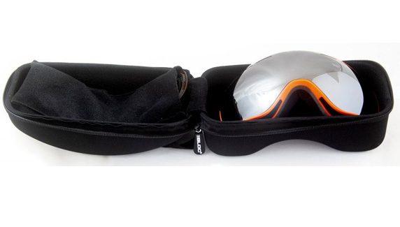hard protective ski goggle case