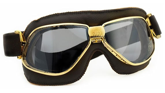 Classic motorcycling goggles