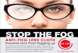 Anti-Fog lens cloth