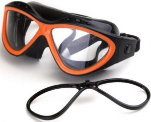 swimming, surfing goggles